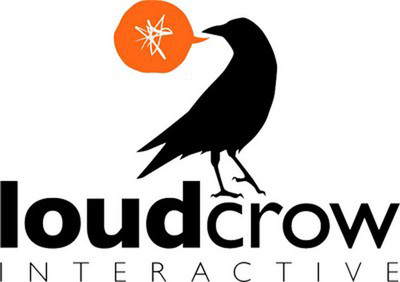 Loud Crow Interactive Logo.  (PRNewsFoto/HarperCollins Publishers)
