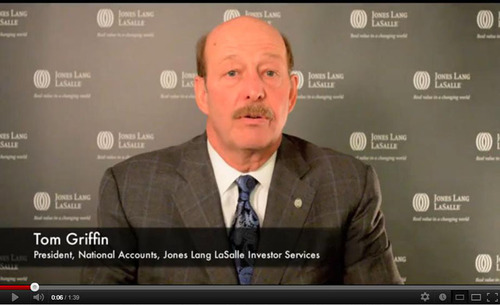 Jones Lang LaSalle's Tom Griffin addresses how institutional owners view their real estate holdings in ...