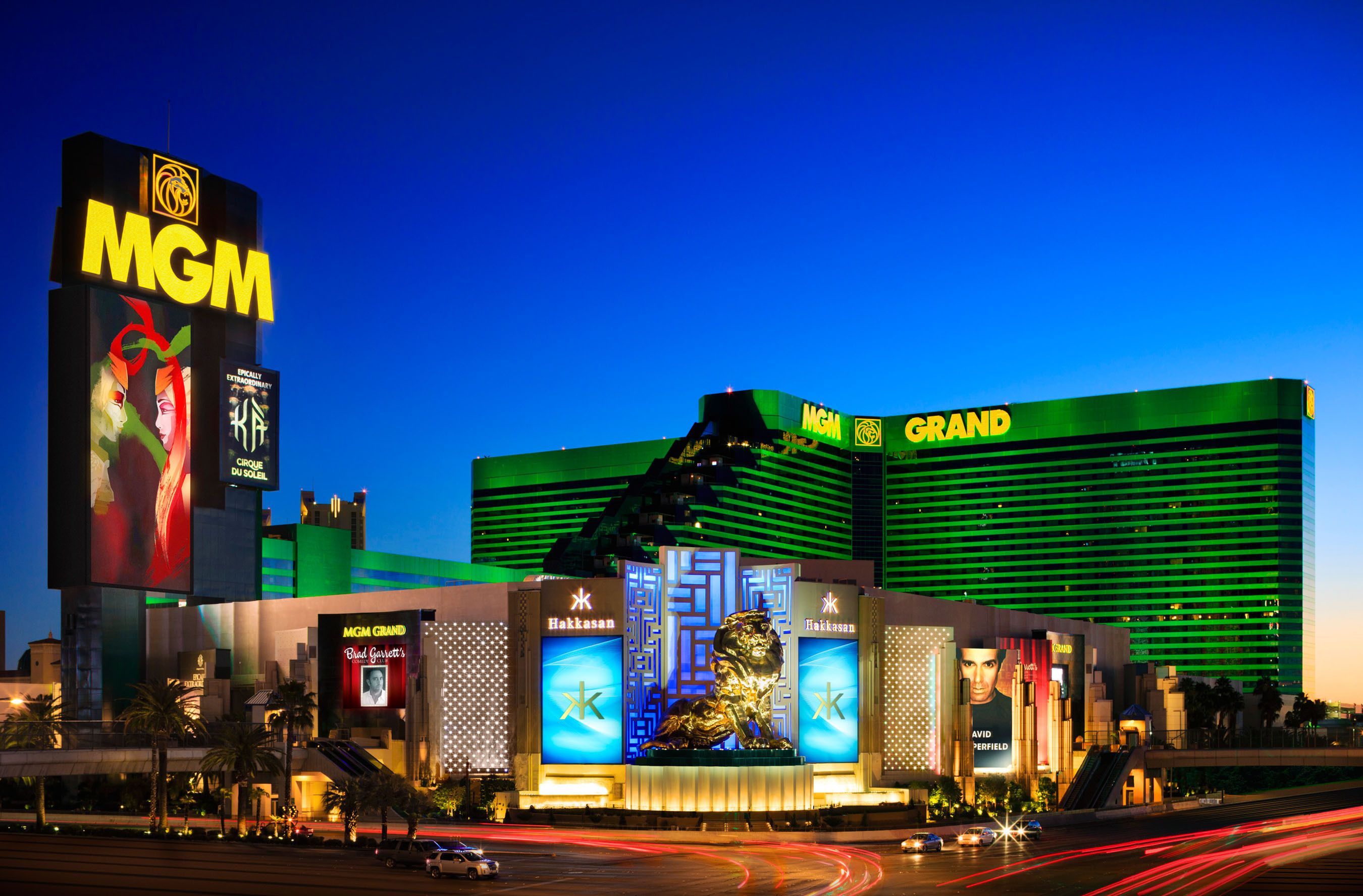 MGM Resorts International and Hakkasan Group Form Joint Venture Hotel Company, MGM Hakkasan Hospitality.  (PRNewsFoto/MGM Resorts International)