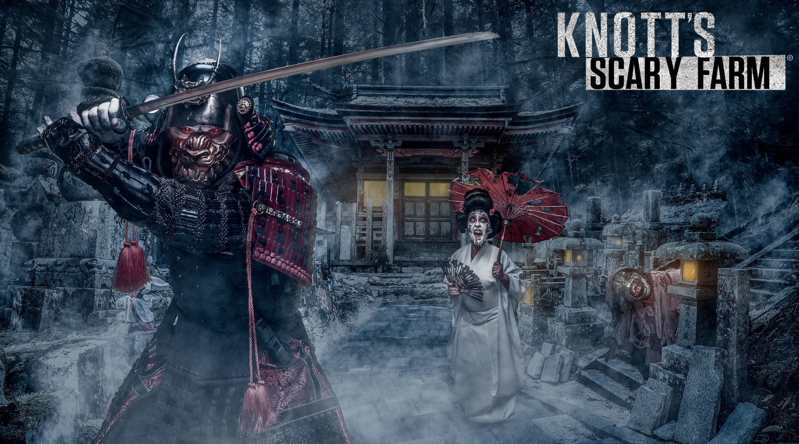 Knott's Scary Farm's Newest Maze, Shadow Lands