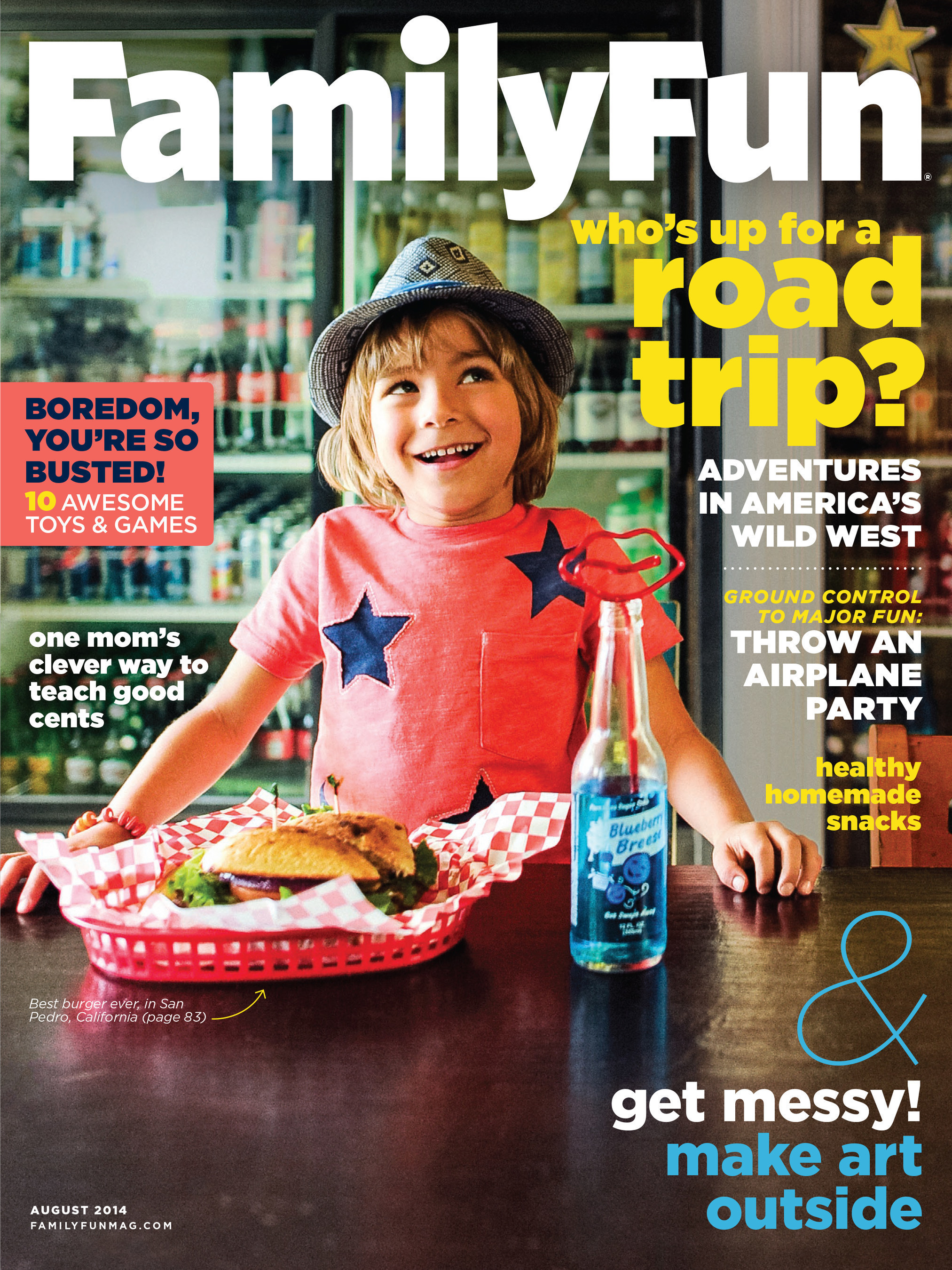 FAMILYFUN MAGAZINE WINS TWO ASME COVER AWARDS FOR AUGUST 2014 COVER