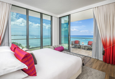 One-bedroom oceanfront king suite, Courtesy of Kimpton Seafire Resort + Spa