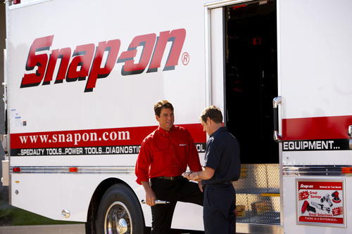 Snap-on Tools Named Among Top 50 Franchises for Military Veterans.    (PRNewsFoto/Snap-on Tools, John Nienhuis)