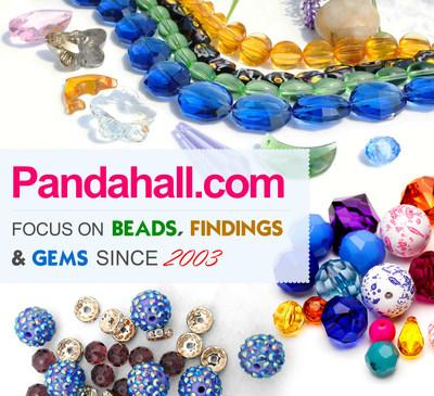 Pandahall.com: Focusing on beads, findings & gems since 2003 (PRNewsFoto/Pandahall)