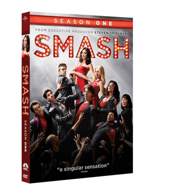Smash Season 1 Own it on January 8, 2013 on DVD with Ultraviolet.  (PRNewsFoto/Universal Studios Home Entertainment)