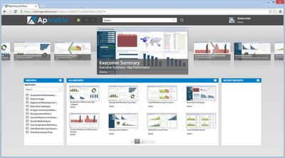 Apmetrix Analytics Platform. (PRNewsFoto/Apmetrix) (PRNewsFoto/APMETRIX)