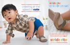 Stride Rite Crawl print advertisement. (PRNewsFoto/Stride Rite Children's Group) (PRNewsFoto/STRIDE RITE CHILDREN'S GROUP)