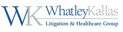 Whatley Kallas.  (PRNewsFoto/Whatley Kallas Litigation and Healthcare Group)