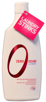 Zero Odor Introduces Zero Odor Laundry, the breakthrough solution to eliminate laundry odor