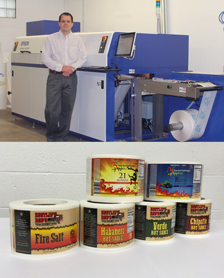 Beiler Print with a SurePress L-4033AW Label Samples