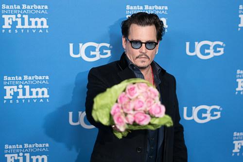UGG and Santa Barbara International Film Festival Honor Johnny Depp