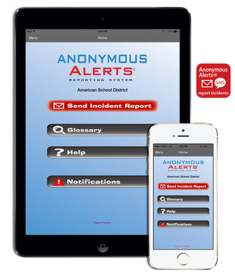 Anonymous Alerts Anti-Bullying App is Now Patented