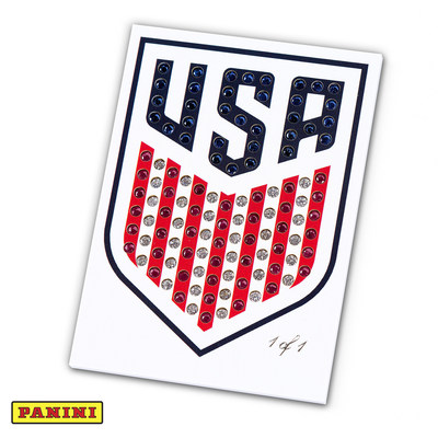 PANINI AMERICA PAYS TRIBUTE TO U.S. SOCCER WITH RARE TRADING CARD FEATURING 115 PRECIOUS GEMS