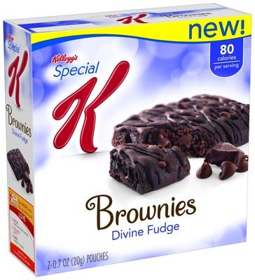 SPECIAL K DIVINE FUDGE BROWNIES