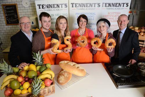 Skills Development Scotland Launch 2013 Modern Apprenticeship Scheme at Tennent's Training Academy