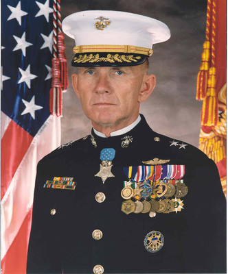 Major General James E. Livingston, USMC (Retired), Medal of Honor. (PRNewsFoto/Chris Ruisi) (PRNewsFoto/CHRIS RUISI)