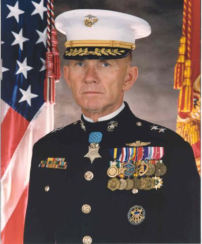 Major General James E. Livingston, USMC (Retired), Medal of Honor. (PRNewsFoto/Chris Ruisi) (PRNewsFoto/CHRIS ...