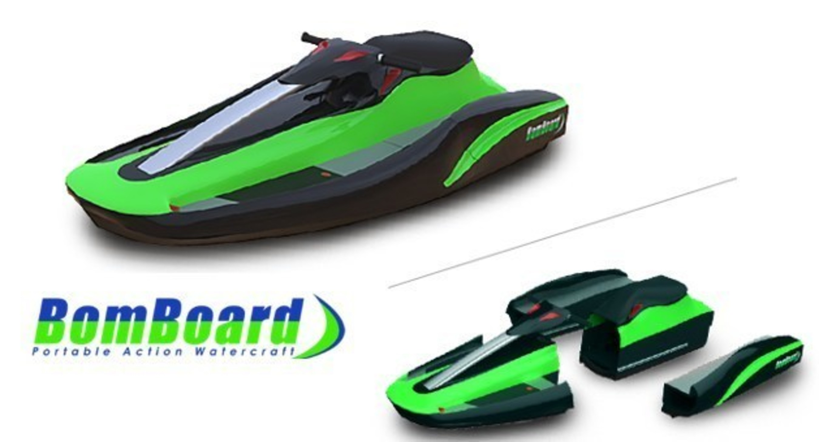 World's First And Only Modular, High-Tech Personal Watercraft Maker, Bomboard(TM), To Use Crowdfunding To Raise Big $$$