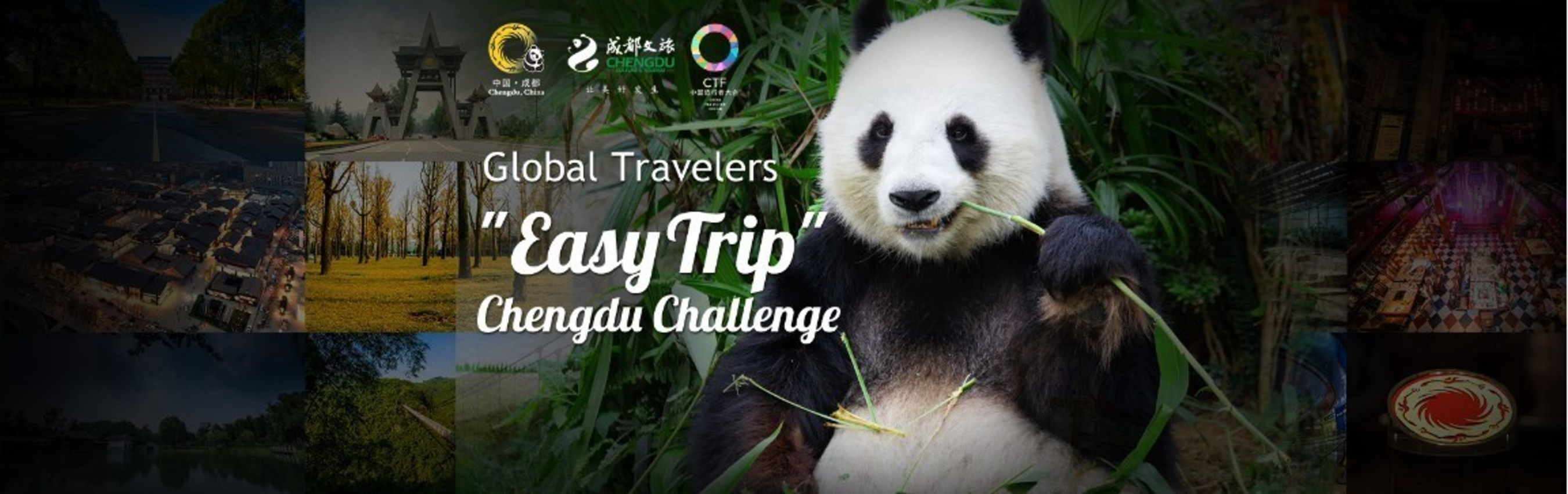 Global Travellers - Chengdu Challenge: Many travelers come to meet in Chengdu