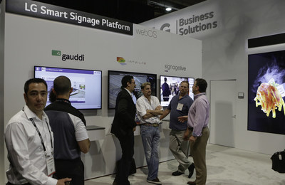 "Expanded solution partners for the commercial version of LG Electronics' popular webOS smart TV platform - ""webOS for Signage,"" implemented in even more LG commercial displays this year - offers convenient new options for business owners deploying smart digital signage solutions."