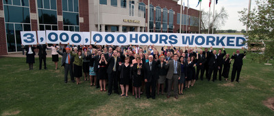 Express Employment Professionals' associates work 3 million hours in one week for employer clients, hitting historic company milestone.