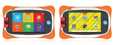 Nabi Jr. Tablets Pre-Loaded with Nickelodeon Content.  (PRNewsFoto/Nickelodeon)