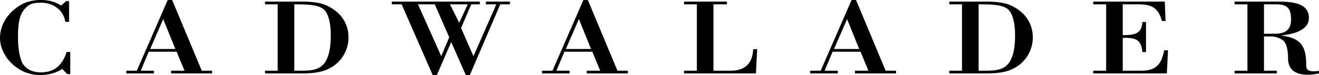Cadwalader, Wickersham & Taft Logo