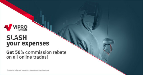 Vipro Markets Makes Forex Trading Even More Rewarding With its New 50% Commission Rebate Promotion (PRNewsFoto/Vipro Markets) (PRNewsFoto/Vipro Markets)
