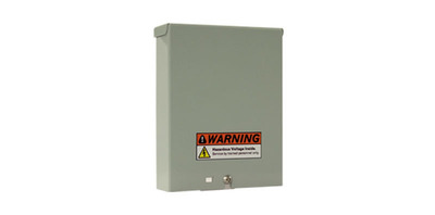 The Alpha SR-12190 is a compact DC to DC downconverter that transforms +/-190Vdc into 12Vdc for powering the Optical Network Terminal in a FTTH network.  Designed for mounting in outdoor environments, the compact, self-enclosed design is ideal for mounting on the side of the house, nearby the ONT. It is equipped with a built-in capacitor to ensure continuous operation, even during brief electrical surges. Unlike other downconverters, the SR-12190 provides a 12V output designed specifically for powering ONTs. For more information, visit www.alpha.ca/SR-12190.  (PRNewsFoto/Alpha Technologies Ltd.)