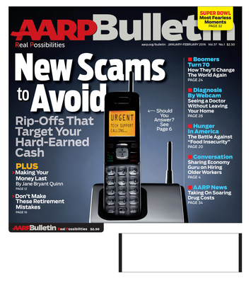 January/February Cover of AARP Bulletin