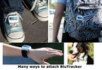 There are many ways to attach the BluTracker.  (PRNewsFoto/StickNFind, LLC)