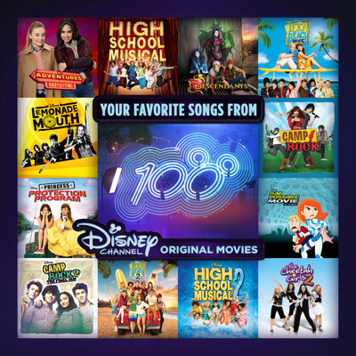 Your Favorite Songs from 100 Disney Channel Original Movies cover art. Credit: Walt Disney Records*