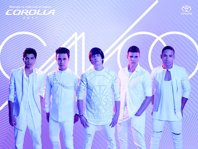 """Univision Network's """"La Banda"""" season one-winning group CNCO partners with Toyota to create an exciting ride for contestants and fans alike."""