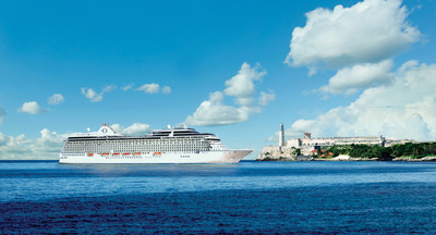 Oceania Cruises' Marina in Havana, Cuba