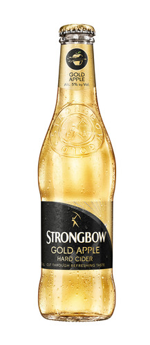 Strongbow Gold Apple Hard Cider.  (PRNewsFoto/HEINEKEN USA)