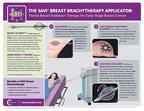 SAVI Brachytherapy Infographic (PRNewsFoto/Elekta and Cianna Medical)
