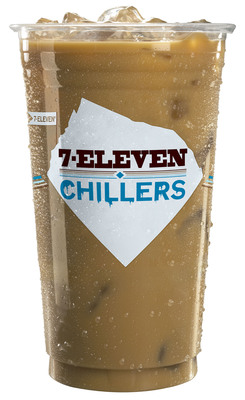 7-Eleven offers its medium-size Chillers Iced Coffee beverage for $1 each Wednesday through Aug. 28 at participating stores.  (PRNewsFoto/7-Eleven, Inc.)