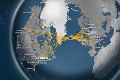 Icelandair Announces Montreal Service