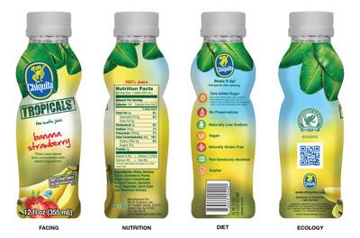 Chiquita TROPICALS(TM). (PRNewsFoto/MOJO Organics, Inc.)