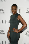 The beautiful star of The Walking Dead Danai Gurira shows off her Hearts On Fire diamonds on the Red Carpet of the ELLE Magazine Women in Television Dinner in Los Angeles on January 24, 2012. (PRNewsFoto/Hearts On Fire) (PRNewsFoto/HEARTS ON FIRE)