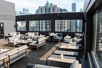 The Cambria Chicago Magnificent Mile Features One Of Highest Rooftop Lounges In City