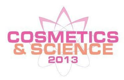 COSMETICS & SCIENCE 2013