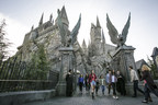 """""""The Wizarding World of Harry Potter"""" officially opens at Universal Studios Hollywood today, April 7, 2016."""