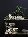 The Brillance Les Fruits du Jardin design created by the Swiss textile designer Regula Stüdli for Rosenthal