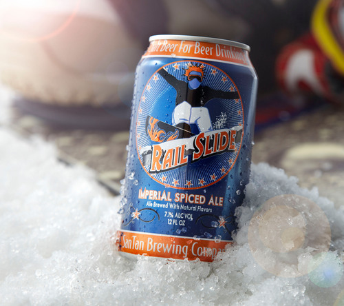 SanTan Brewing Company Introduces Rail Slide Imperial Spiced Ale: Arizona's First Seasonal Canned