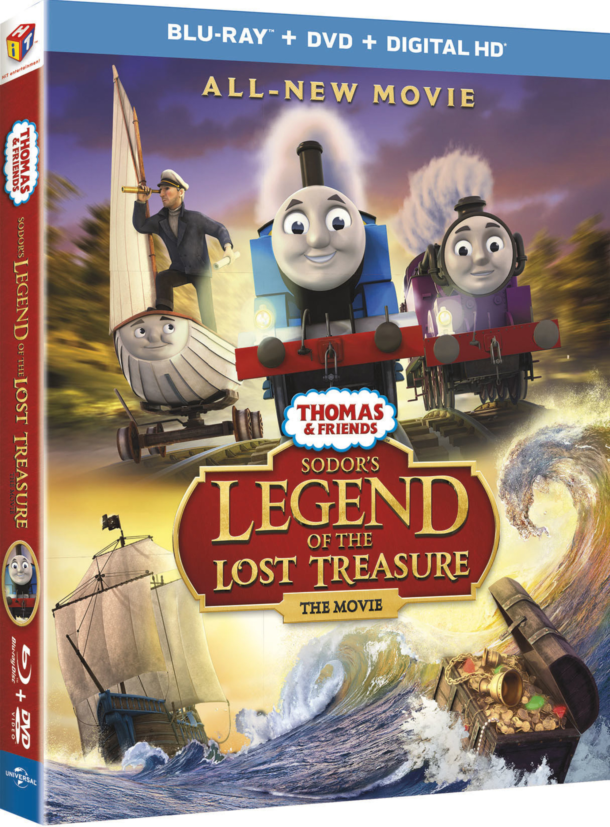 From Universal Pictures Home Entertainment: Thomas & Friends: Sodor's Legend of the Lost Treasure