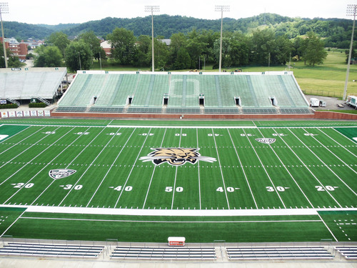 Ohio University's Peden Stadium.  (PRNewsFoto/AstroTurf)