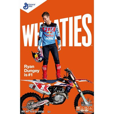 Motocross superstar Ryan Dungey to appear on Wheaties Box
