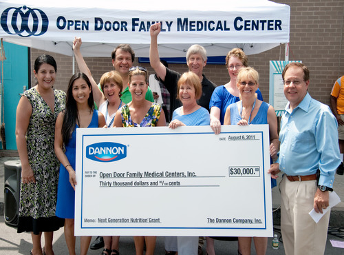 The Dannon Company Awards Open Door Family Medical Centers of Westchester County The Sixth Annual