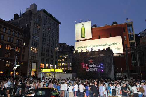 TV on the Radio Teams Up with Heineken Light to Bring the 'Occasionally Perfect' Billboard to Life